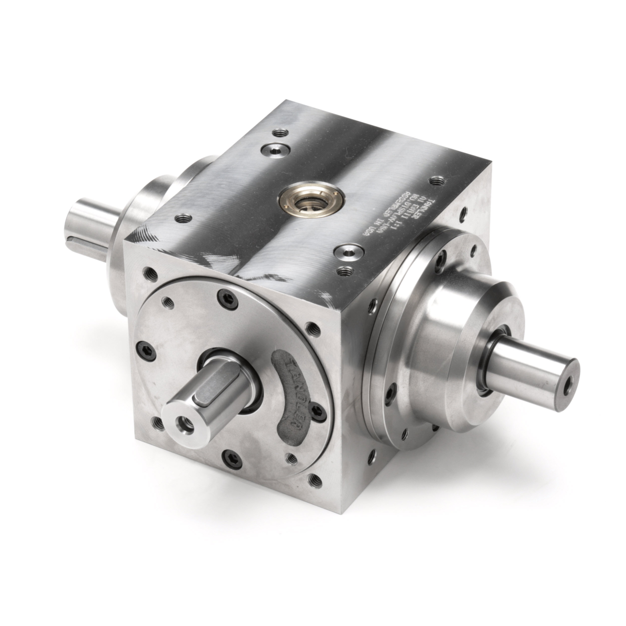 Tandler - Auxiliary Shaft Spiral Bevel Gearbox