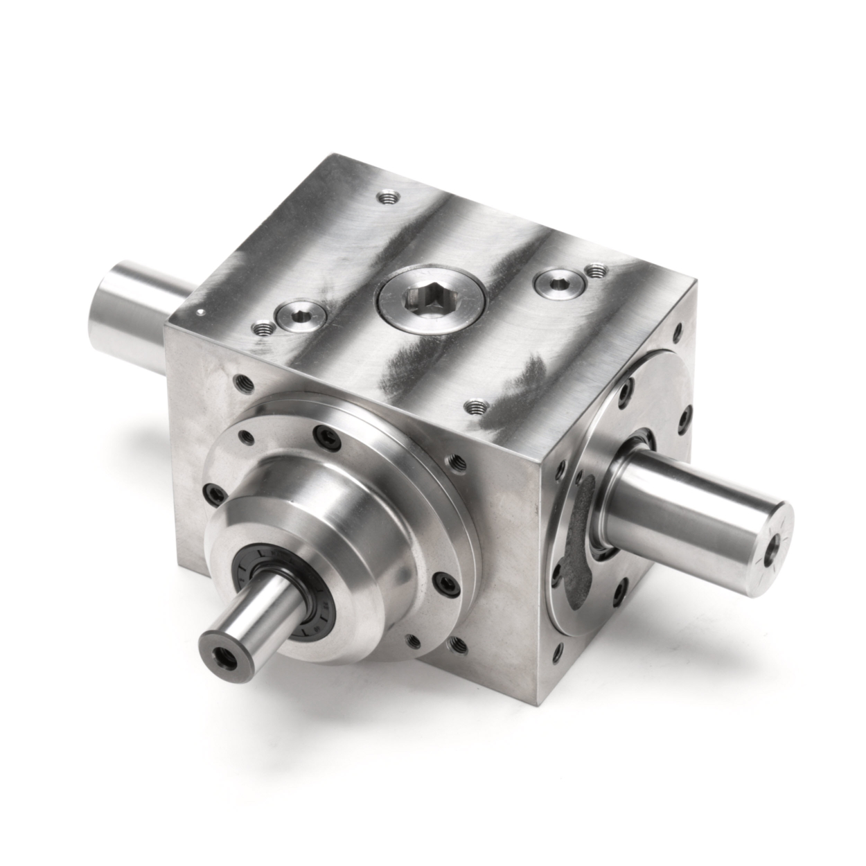 Tandler - Reinforced Shaft Spiral Bevel Gearbox