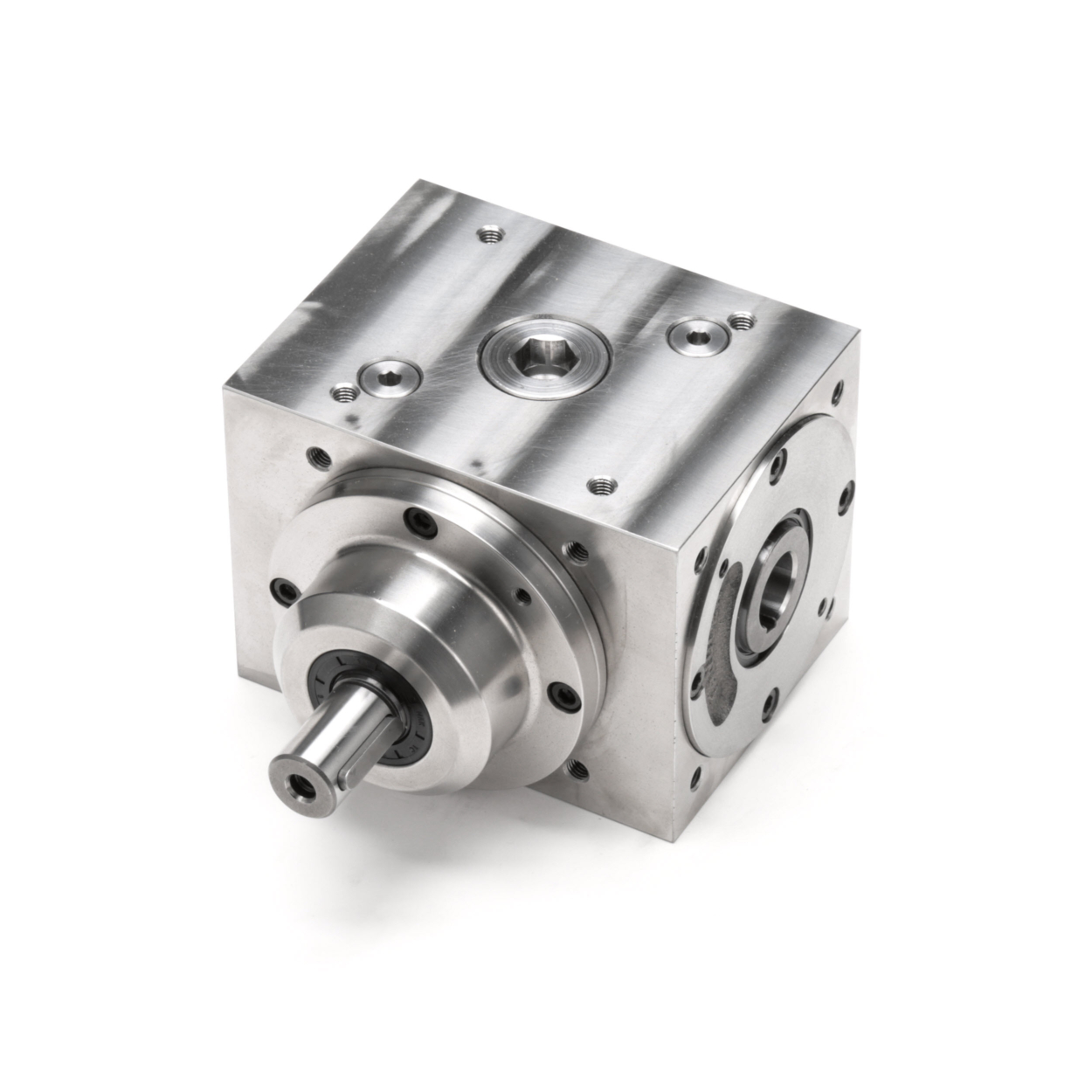 Tandler - Hollow Shaft Steel Spiral Bevel Gearbox