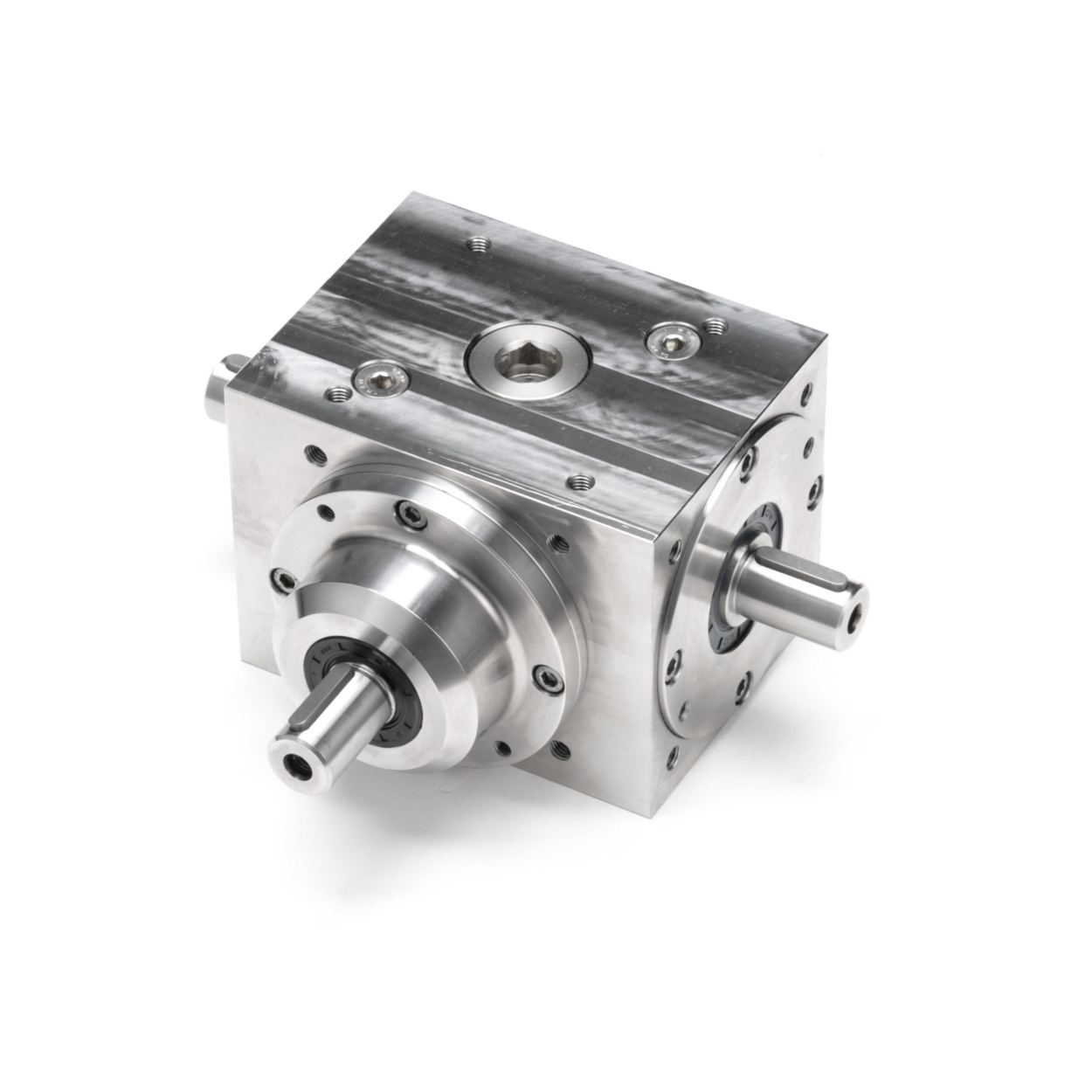 Tandler - Stainless Steel Spiral Bevel Gearbox